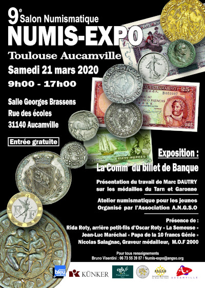 2020 Grand Toulouse Coin Show